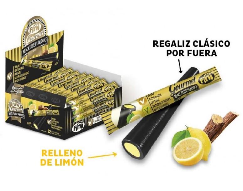 regaliz-fini-gourmet-black-limon-32-unidades