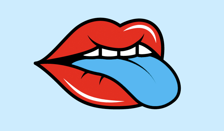 lengua-azul